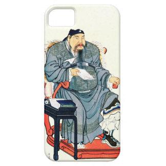 Funcionario chino 1810 funda para iPhone SE/5/5s