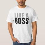 (FUNCIONARIO) como Boss Playera