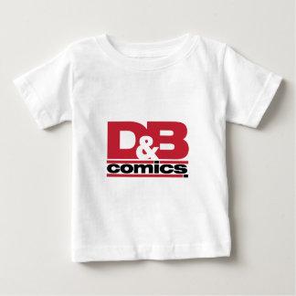 Funcionario D y ropa del logotipo de los tebeos de Tshirt