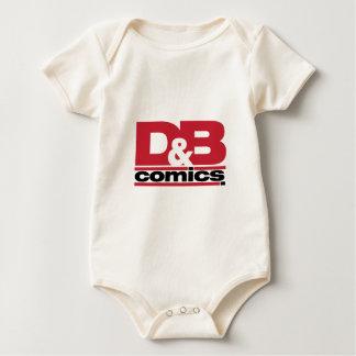 Funcionario D y ropa del logotipo de los tebeos de Trajes De Bebé