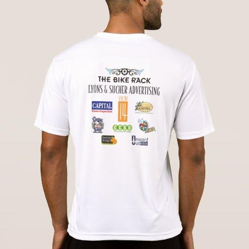 Funcionario de DVR 2010 T, tela de la TECNOLOGÍA Camisetas
