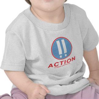 Funcionario de la acción A.Okay Camiseta