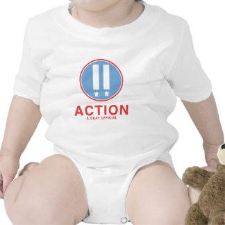 Funcionario de la acción A.Okay Traje De Bebé