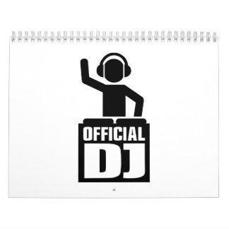 Funcionario DJ Calendario