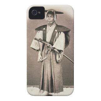 Funcionario judicial o samurai japonés, c.1870s funda para iPhone 4 de Case-Mate