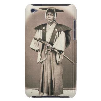 Funcionario judicial o samurai japonés, c.1870s funda para iPod de Case-Mate