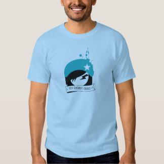 """Funcionario """"logotipo de los chicas del TLV Derby"""" Camisas"""