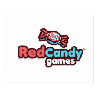 Funcionario Merch de los juegos de RedCandy Postales