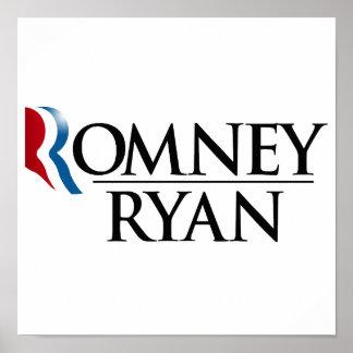 FUNCIONARIO ROMNEY RYAN 2012 - .PNG POSTERS
