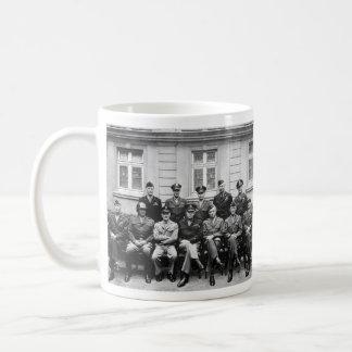 Funcionarios militares americanos mayores de la Se Tazas De Café