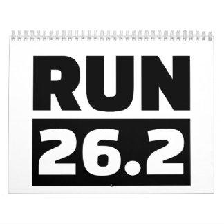 Funcione con 26,2 millas de maratón calendarios
