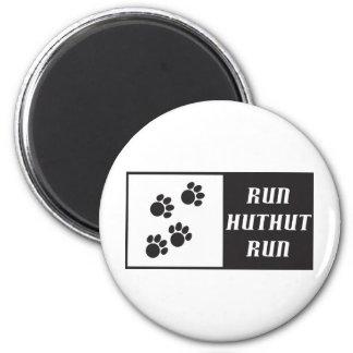 Funcione con el funcionamiento 2 de HutHut Imán Redondo 5 Cm