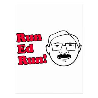Funcione con el funcionamiento de Ed Tarjetas Postales