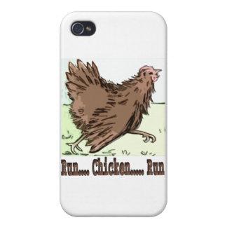 Funcione con el funcionamiento de pollo iPhone 4/4S carcasas