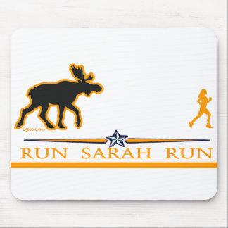 ¡Funcione con el funcionamiento de Sarah! Alfombrilla De Raton