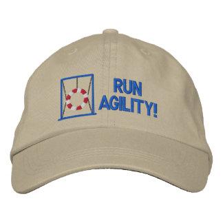 Funcione con el gorra bordado agilidad gorras de beisbol bordadas
