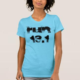 Funcione con la camiseta 13,1 con el refrán playera