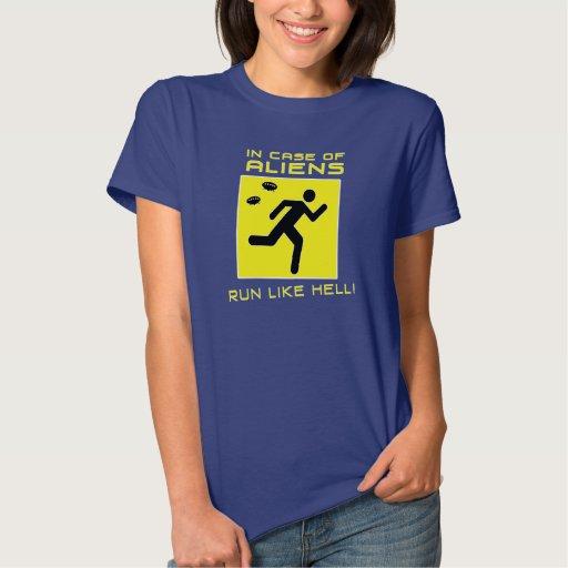 Funcione con mucho a los extranjeros tshirts