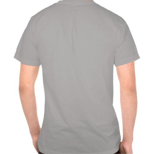 Funcione con por todas partes la camiseta