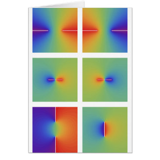Funciones trigonométricas inversas complejas tarjeta de felicitación