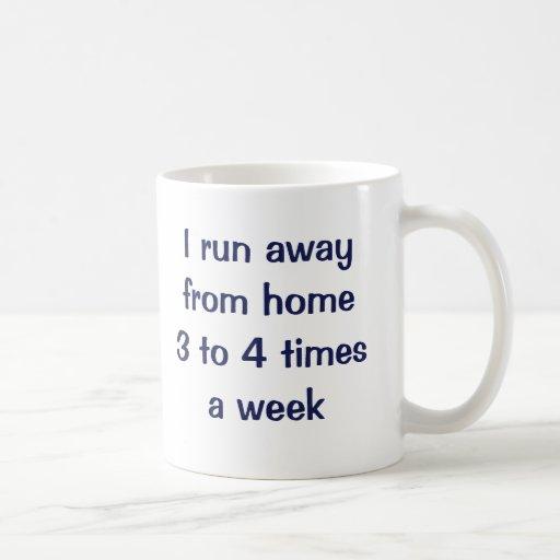 Funciono con 3 a 4 épocas de fuera a la semana taza de café