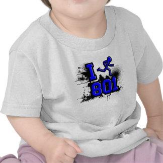 Funciono con 801 azules/la camiseta negra del bebé