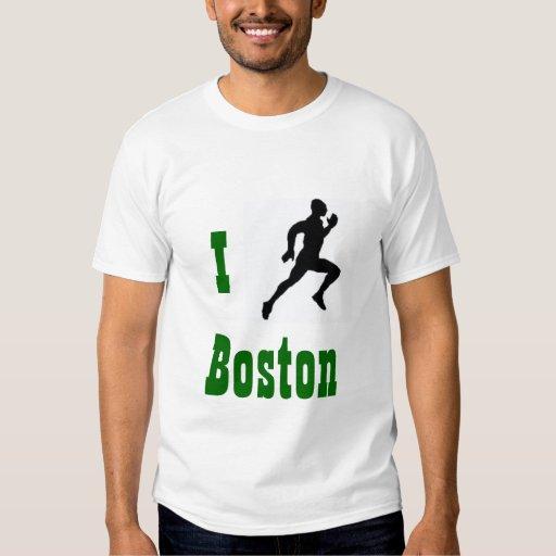 Funciono con la camiseta de Boston Remera