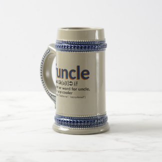 Funcle definition beer stein