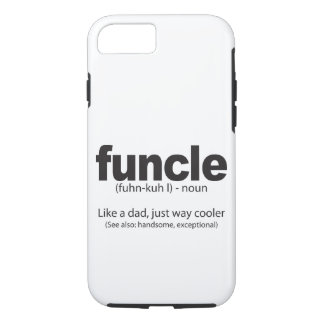 Funcle Definition Funny Uncle Quote Iphone Case