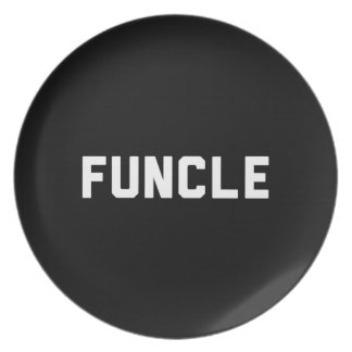 Funcle Dinner Plates