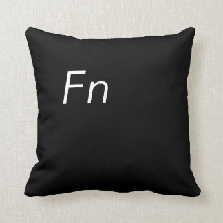 Function Button Throw Pillow