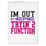 Function Greeting Card