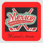 Fund for Mexican womens  ice hockey team Sticker
