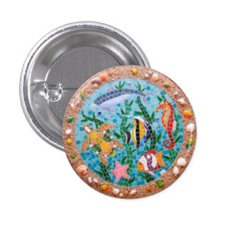 FUND OF THE SEA PINBACK BUTTON