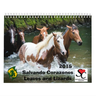 Fund Raiser Calendar Salvando Corazones 2015