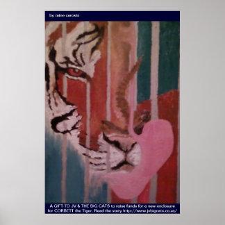 FUND RAISER FOR CORBETT, JV & THE BIG CATS (Tiger) Poster