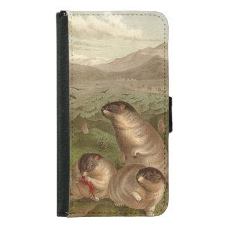 Funda blanda colorida del ejemplo de la marmota