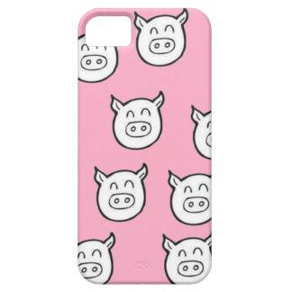 Funda cerdos fondo rosa