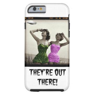 Funda chistoso del teléfono del UFO Funda Para iPhone 6 Tough