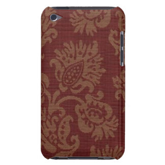 Funda-Compañero-iPod-Tacto floral del vino del Funda iPod