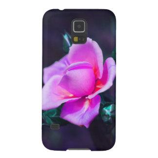 Funda con rosa lila