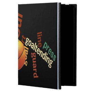 Funda-Cubiertas del aire del iPad del baloncesto