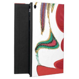 Funda-cubiertas rojas elegantes del aire del iPad