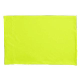 Funda de almohada amarilla chartreuse funda de cojín