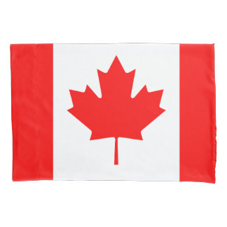 Funda de almohada canadiense de la bandera para funda de cojín