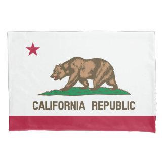 Funda de almohada de la bandera del oso de la funda de cojín