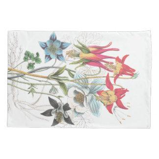 Funda de almohada del ramo floral de la flor de funda de cojín