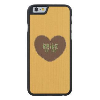 FUNDA DE iPhone 6 CARVED® DE ARCE
