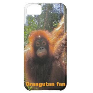Funda de Iphone de la fauna para ahorrar el orangu
