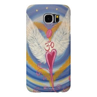 """Funda de móvil """"ángel para amor de aun """" fundas samsung galaxy s6"""